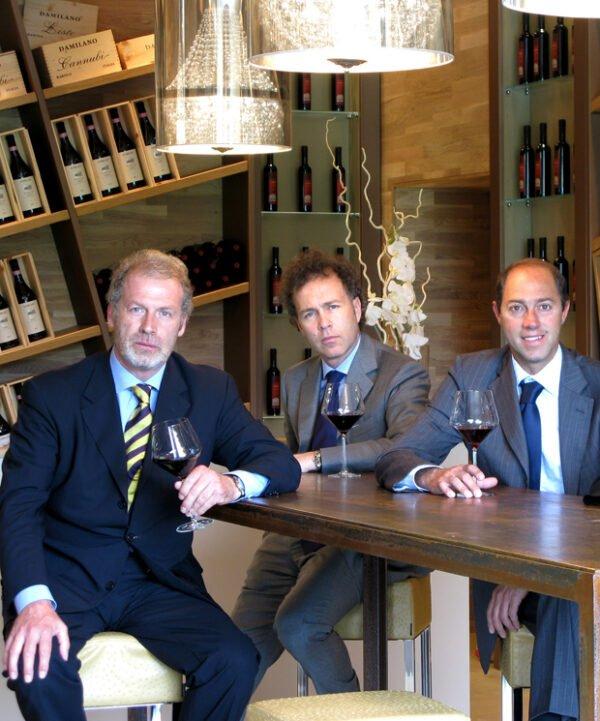 Paolo, Mario en Guido Damilano