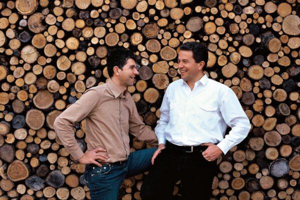 Gini portrait Sandro e Claudio